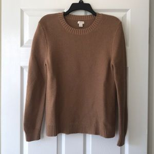 J Crew Tan Sweater
